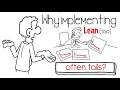 Lean Failure Why Implementing Lean Too Often Fails mp3