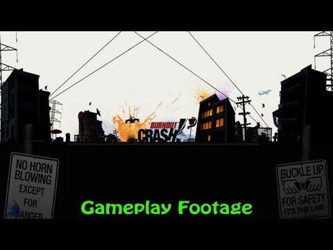 Burnout Crash Gameplay
