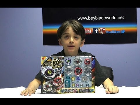 Beyblade (Toupie) Metal Masters Ultimate DX Set BB121 Unboxing