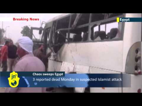 Sinai Islamist Insurgency: 3 killed in latest Sinai militant attack on coachload of factory workers