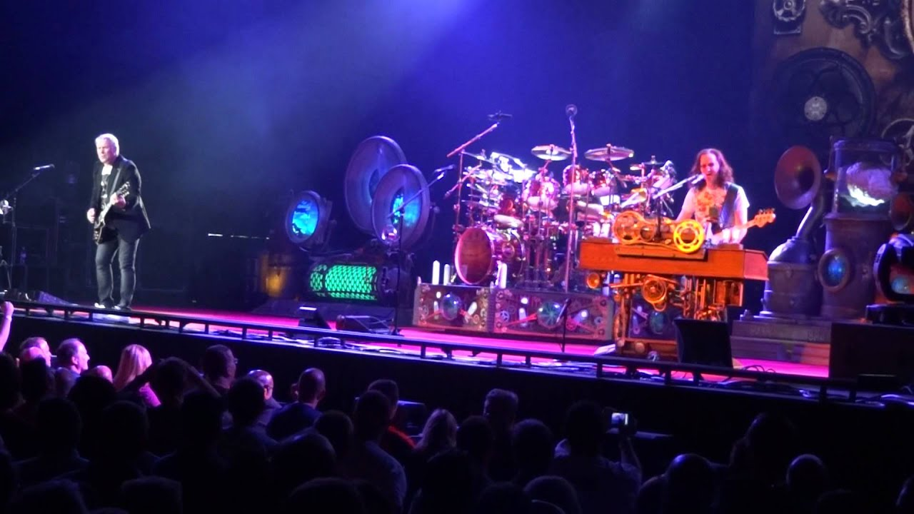 Rush Concert Wallpaper Rush Middletown Dreams Live
