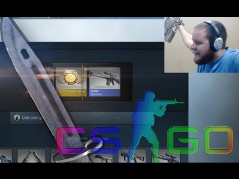 Cs:go Case Openings! Getting F*cked & Then A Knife! (case Opening Reaction) video