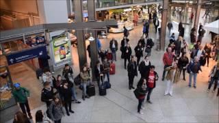 Deutsche Bahn Flashmob - Mano Ezoh Michael(The Guardians) Legend Was Born / Fly