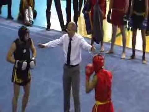Wushu Sanshou at the Cup of Ukraine Wushu Taolu 2013 ( Mariupol) Image 1