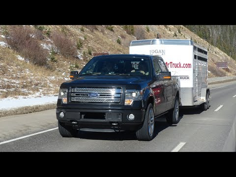 Ford F-150 EcoBoost takes on Nissan. Chevy & the Ike Gauntlet 2.0 Mega Tow Test (Episode 2)