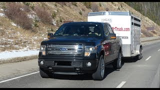 Ford F-150 EcoBoost takes on Nissan, Chevy & the Ike Gauntlet 2.0 Mega Tow Test (Episode 2)