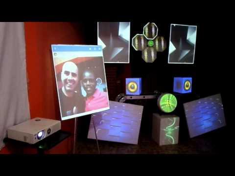 Curso Desmistificando o Video Mapping com Joff Cordeiro - Luanda - África.