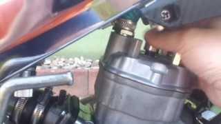 Comment caler un allumage a rotor interne sur derbi ( MVT DD )