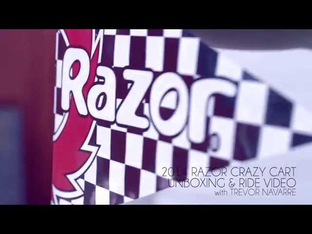 2014 Crazy Cart - Unboxing and Ride Video w/ Trevor Navarre