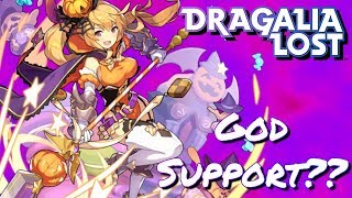 God Support Unit?? New Banner Halloween Unit Overview Dragalia Lost