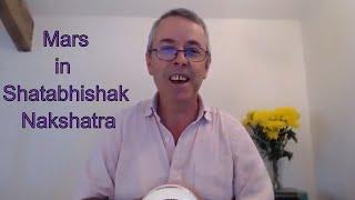 Mars In Shatabhishak Nakshatra 5th 28th November 2018