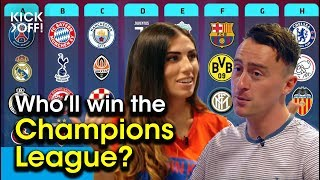 Champions League 2019/20: Who will win?