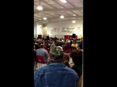 Midland high school band