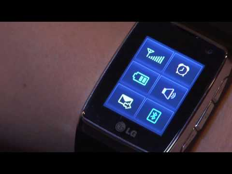 LG-GD910 3G Watch Phone