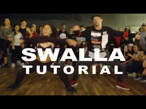 """SWALLA"" - Jason Derulo FEAT. Nicki Minaj Dance TUTORIAL | @MattSteffanina Choreography"