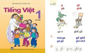 Học tiếng việt lớp 1 Tập 1 Bài 23: dạy bé học chữ cái chu cai tieng viet lop 1 | PA channel
