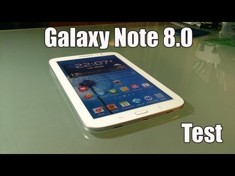 Test de la Galaxy Note 8.0