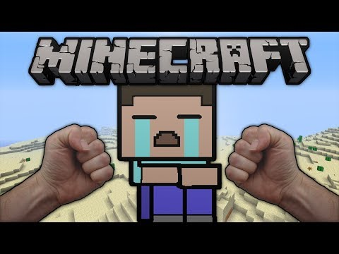 Minecraft: NAKED FIST FIGHT! (PC/Xbox 360 Hunger Games)