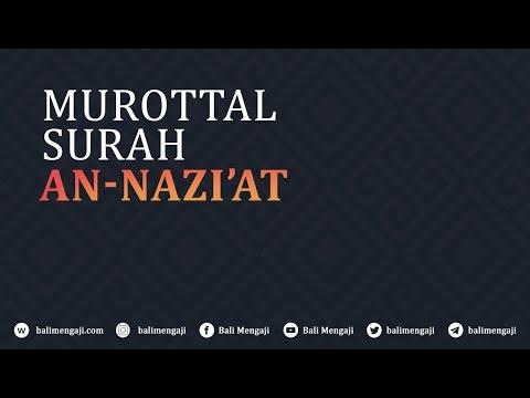 Murottal Surah An-Naziat - Mashudi Malik Bin Maliki