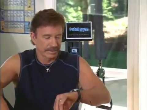 Chuck Norris - Workout on Total Gym #7