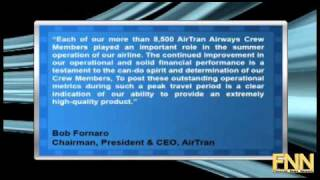 AirTran Holdings Missed Q3 Estimates, Top Line Up 11.8%