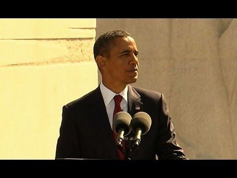 President Obama Delivers Remarks at the Martin Luther King, Jr. Memorial Dedication