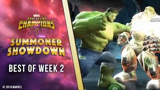 Marvel Contest of Champions: Summoner Showdown | Best of Week 2!