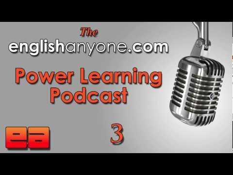 The Power Learning Podcast – 3 – Reduce Your Accent With 1 Sound – Learn Advanced English Podcast