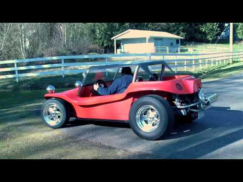 VW dune buggy final test  - Feb 2010