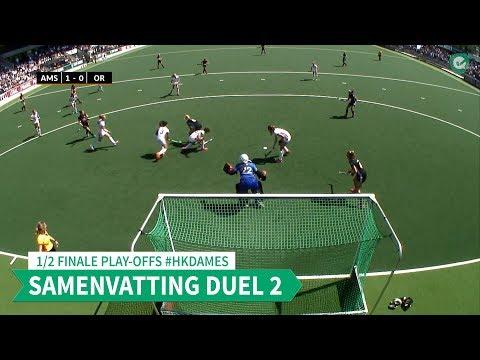 Hoofdklasse (D): Samenvattingen 1/2 finale play-offs - Duel 2