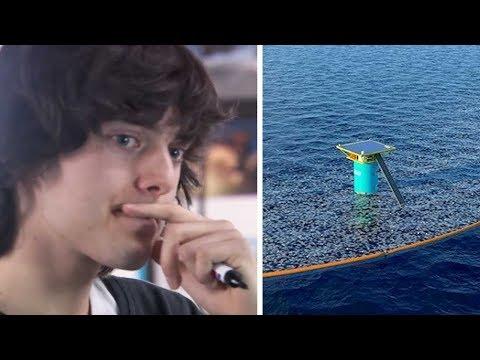 Ein junges Genie sagt, er könne den Ozean dazu bringen, sich selbst zu reinigen!