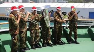 New Zealand Army Band performing Christmas Carol