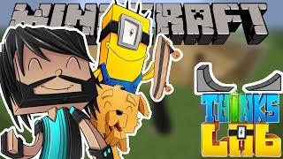 SKATE PARK!!! | Think's Lab Minecraft Mods [Minecraft Roleplay]