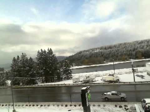 A Day in Coeur d'Alene, Idaho - November 18, 2011