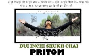 DUI INCHI SHUKH CHAI । PRITOM AHMED । 1st SOLO ALBUM- 2002