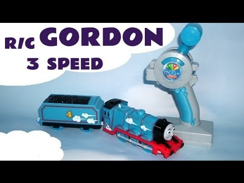 Gordon 3 Speed R/C Trackmaster Thomas & Friends Kids Toy Train Set Thomas The Tank Engine