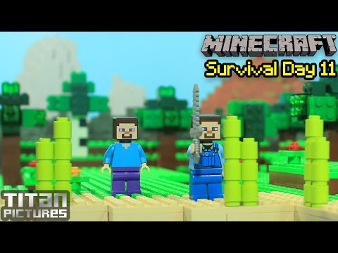 Lego Minecraft Survival 11