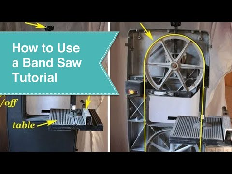 Band Saw Tutorial