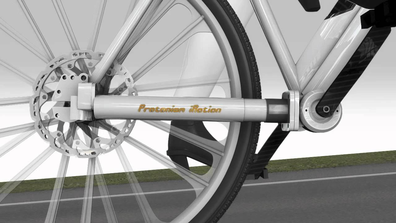 Protanium Shaft Bike Electric Bicycle Youtube