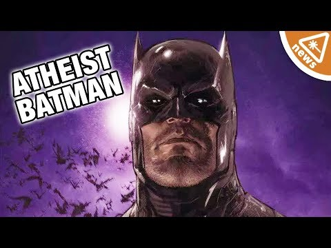 Why Batman Being an Atheist Is Bigger than You Think! (Nerdist News w/ Jessica Chobot)