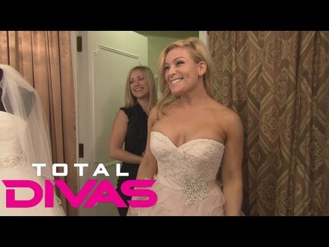 Natalya Goes Wedding Dress Shopping With Her Sister: Total Divas Bonus Clip, Sept. 15, 2013 video