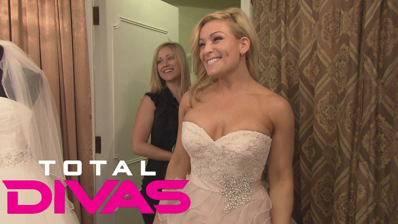 Natalya goes wedding dress shopping with her sister total for Bra for wedding dress shopping