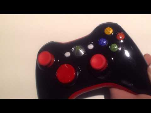 Custom Painted Xbox 360 Controller by LETHALxSNIIPES