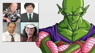 """Characters Voice Comparison - """"Piccolo"""""""