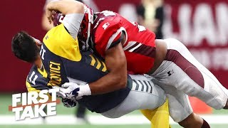 Will the AAF's violence hurt the NFL? | First Take