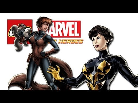 LEGO: Marvel Super Heroes - Wasp & Squirrel Girl (FREE ROAM)