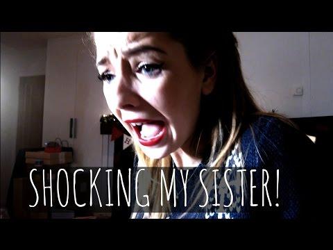 Shocking My Sister   Vlogmas 2014 video
