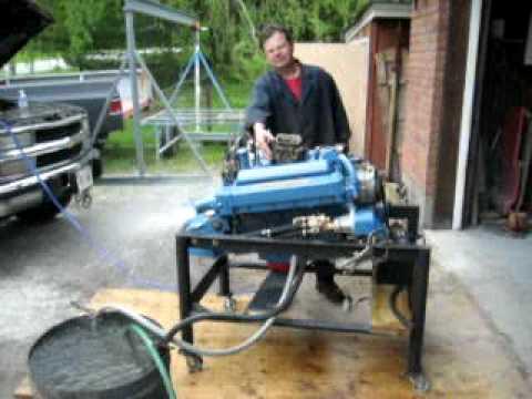 Chris Craft 283 Ho Engine Break In Youtube