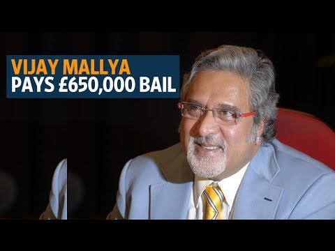 Vijay Mallya pays £650,000 bail, says 'keep dreaming' about 'billions of pounds'