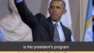 Học từ vựng qua bản tin ngắn: Obamacare